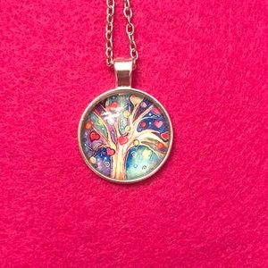 Jewelry - Tree of life necklace & (FREE FLAG🇺🇸BONUS)